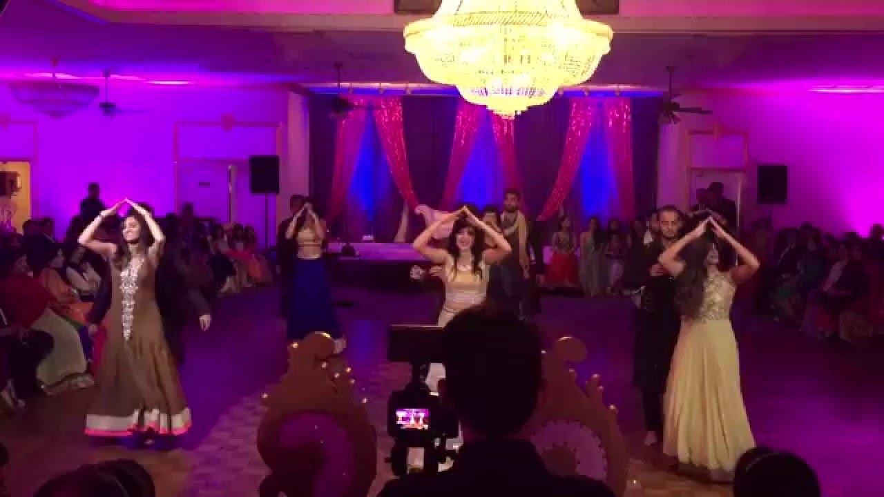 Best Bollywood Wedding Sangeet Dance Script Naushin And Sohail