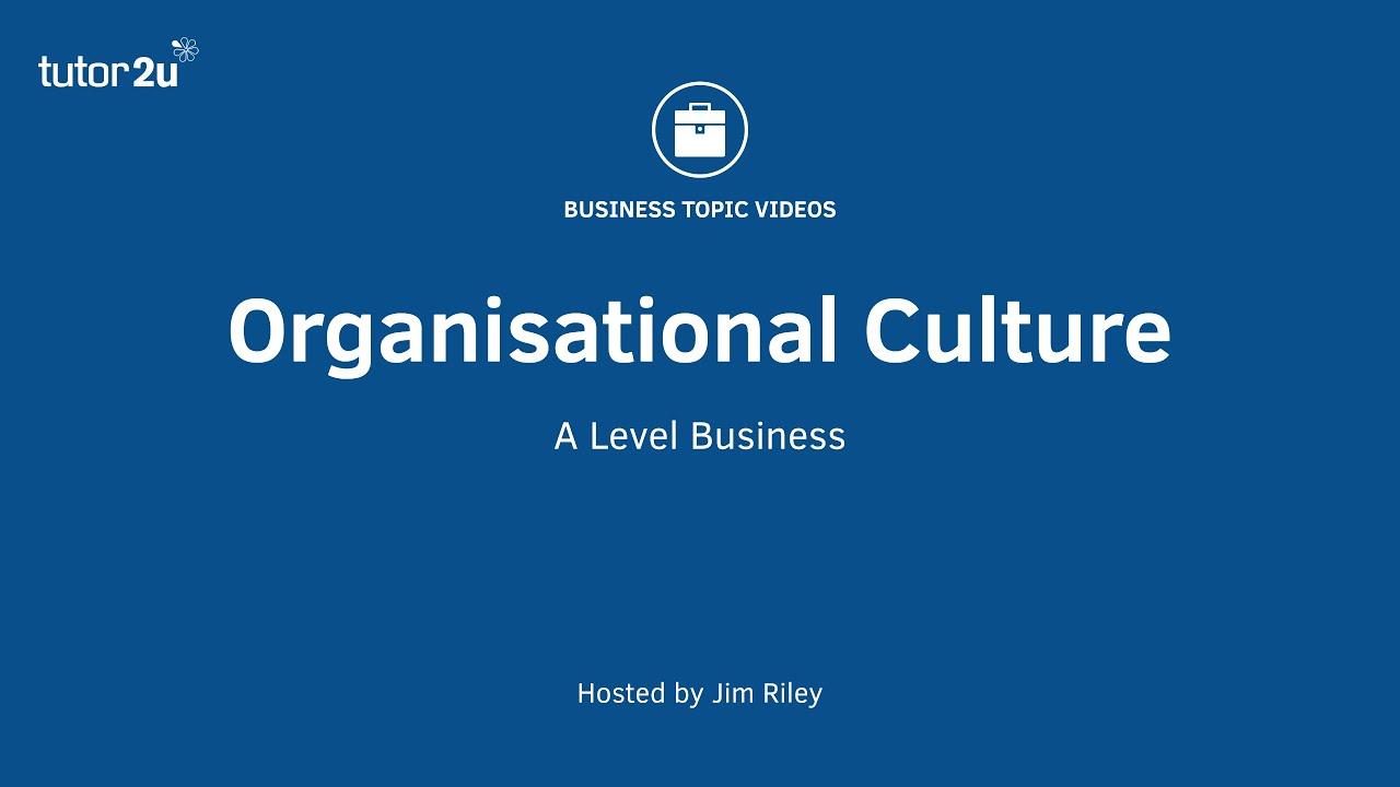 levels of organizational culture