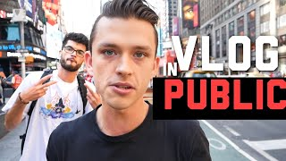 How to overcome Social Anxiety & vlog in public