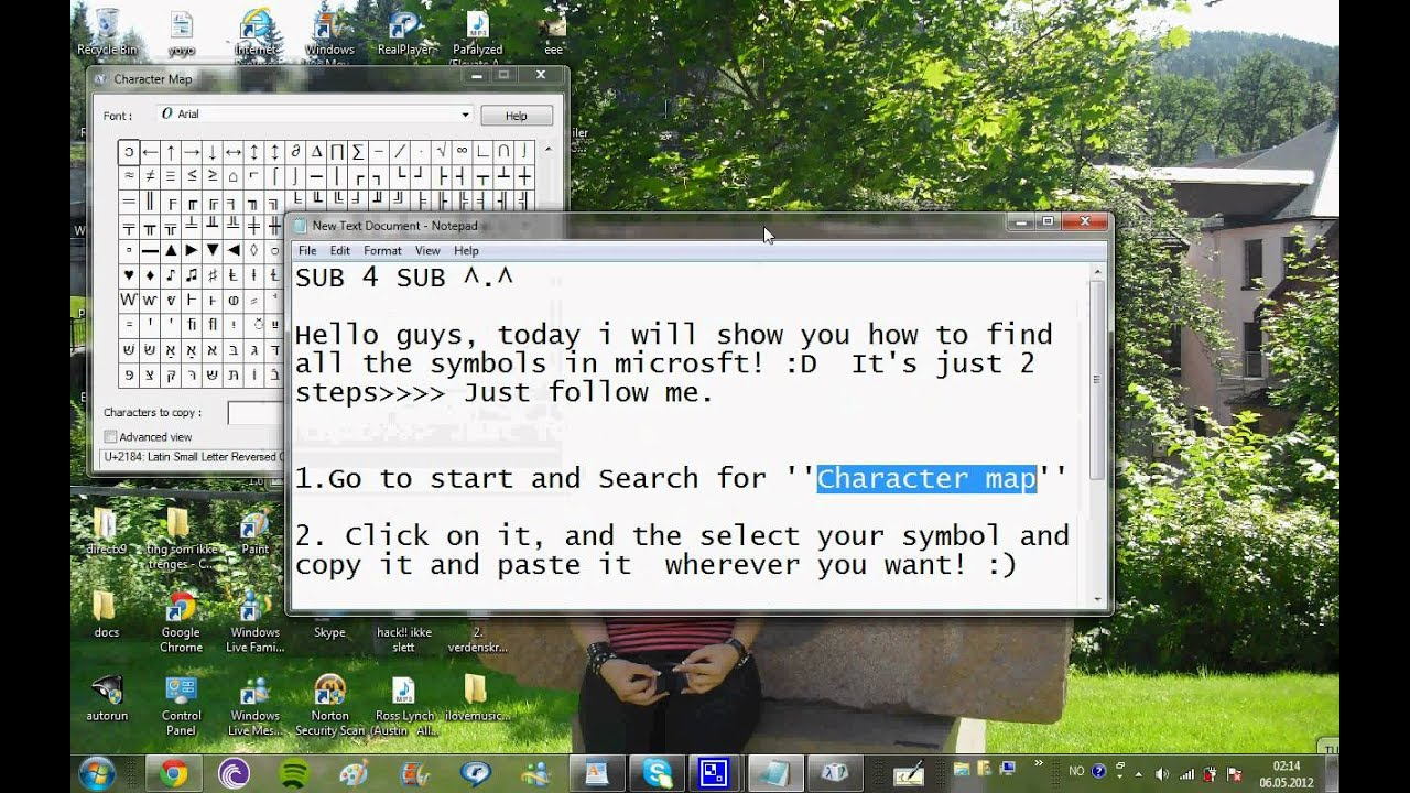 How to find all the symbols on your pc youtube how to find all the symbols on your pc biocorpaavc