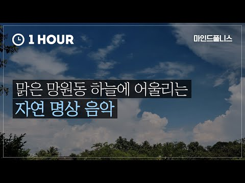 Sunny clear day in Seoul Mangwondong | Meditation | Mindfulness | 1 HOUR | ASMR
