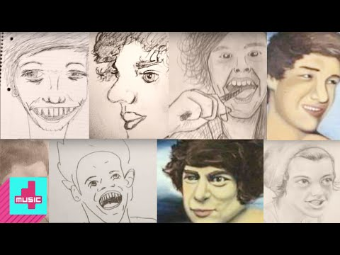 One Direction: Best Worst Fan Art & Drawings