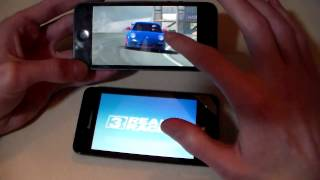 Сравнение: Lenovo A319 vs iPhone 5 (HD)