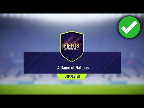 A GAME OF NATIONS SBC *CHEAP* (FIFA 18 A GAME OF NATIONS SQUAD BUILDER CHALLENGE)