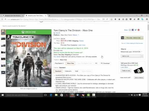 [Tutorial] How to get Tom Clancy's The Division Beta Code PS4/Xb1/PC