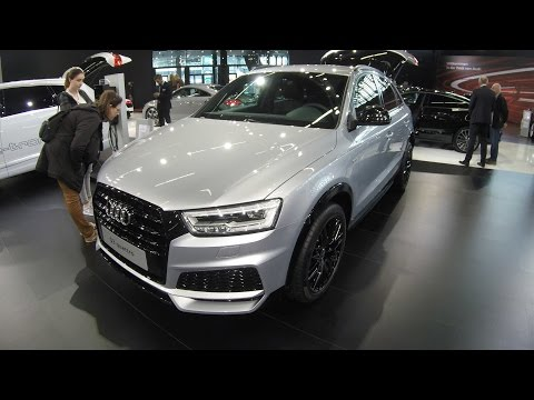 AUDI Q3 COMPILATION 3: SILVER S-LINE SPORT / GREY S-LINE AND WHITE COLOUR !! WALKAROUND + INTERIOR