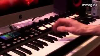 mmag.ru: Musikmesse 2015 - AKAI ADVANCE - midi клавиатура