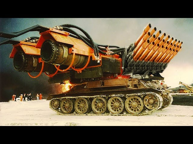 CRAZIEST Tanks In The World!