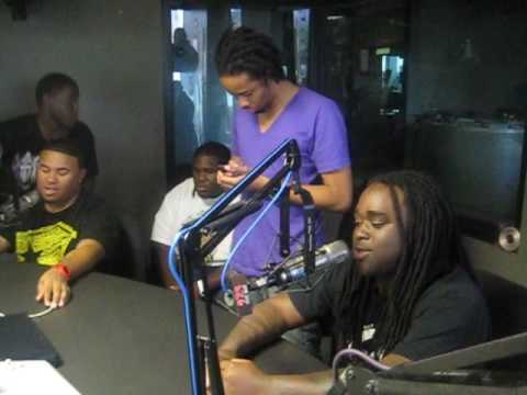 97.9 THE BOX***YOUNG PROBLEMZ***LIVE IN STUDIO