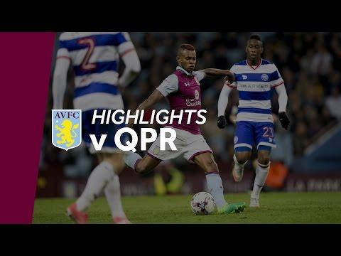 Aston Villa 1-0 QPR   Highlights
