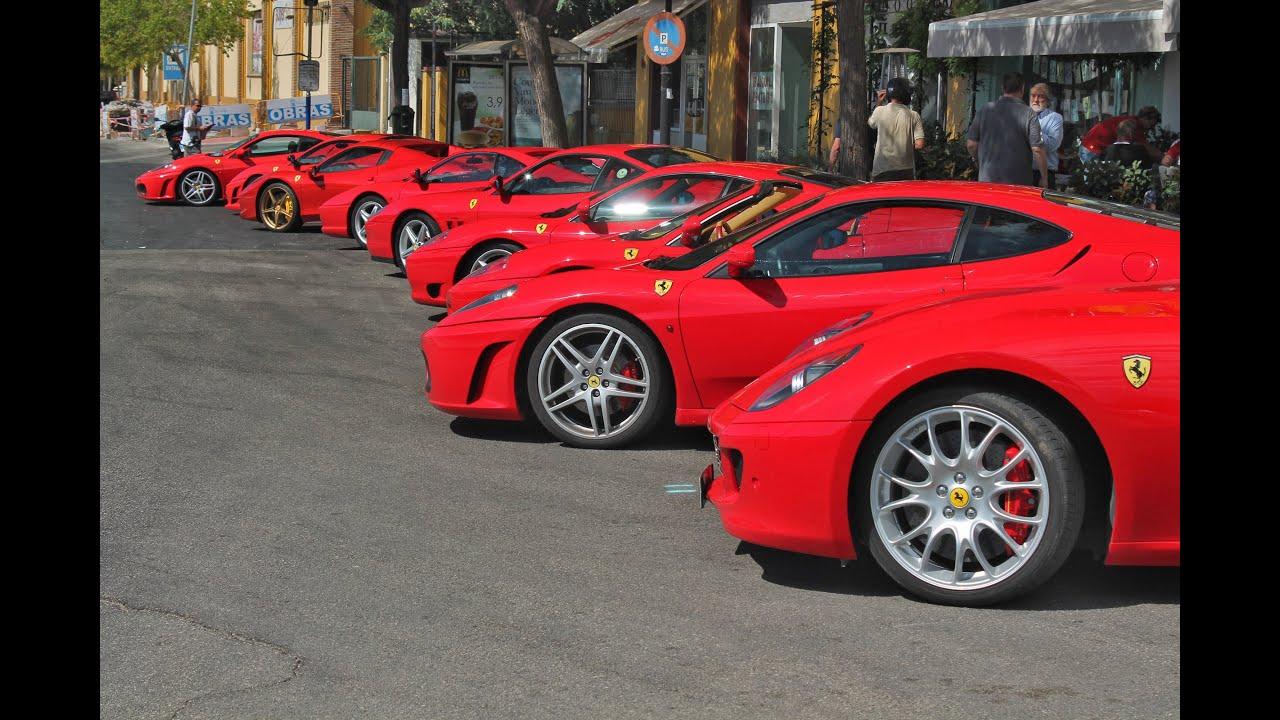 Club Ferrari Andalucia meeting - YouTube