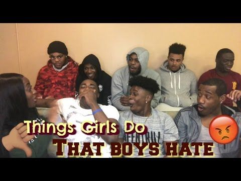 Things Girls Do That Boys HATE 😡 | COLLEGE BOYS EDITION 🎓 |