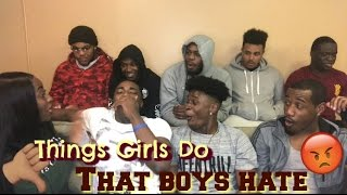 Things Girls Do That Boys HATE 😡 | COLLEGE BOYS EDITION 🎓 | Young Africana