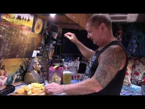 Living Free In My RV -  Cold Press Juice in My RV