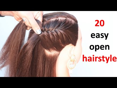 20-easy-open-hairstyle-for-teenagers-||-everyday-hairstyle-||-simple-hairstyle-||-cute-hairstyle