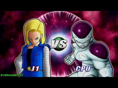 Dragon Ball Raging Blast 2    Freezer FULL POWER VS Androide 18