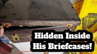 What Was Hidden Inside His Briefcase Was Incredible! A Real Treasure Hunt Inside This Storage Unit.