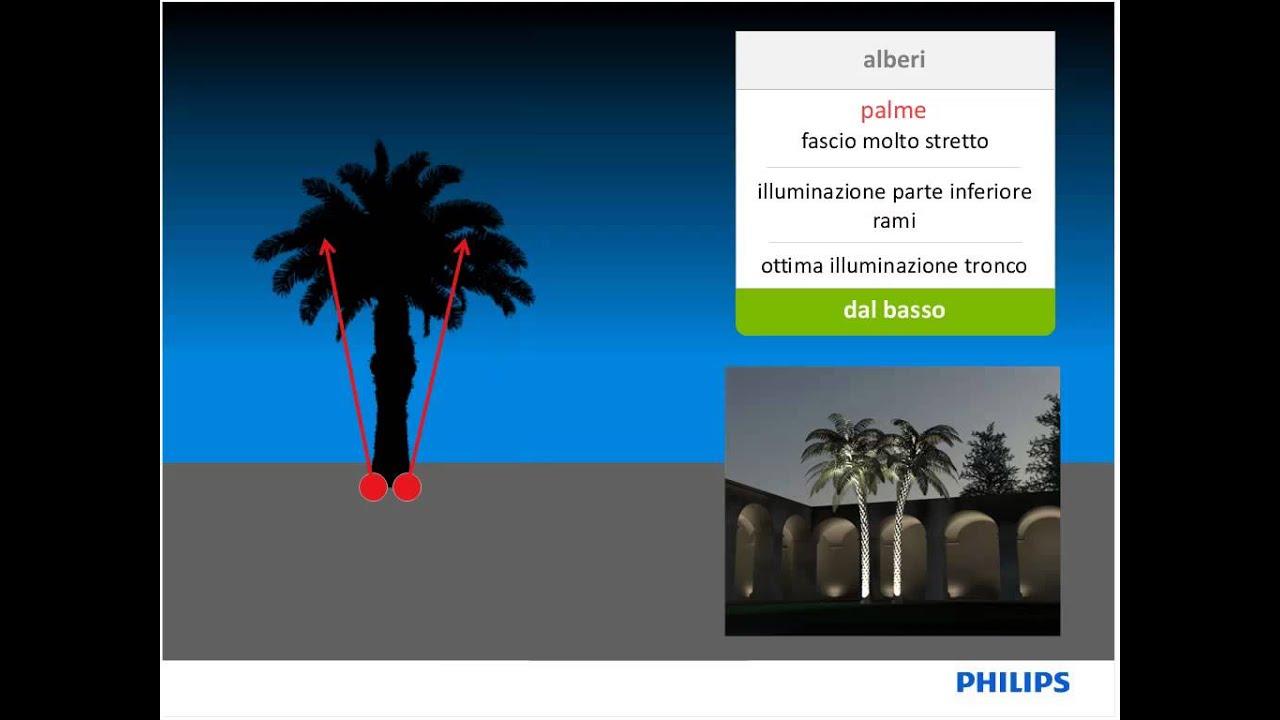 Tecniche di illuminazione degli elementi architettonici in