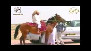 مالك الابل المعروف نائف بن نماس السميري برنامج العساس قناة الصحراء الفضائية