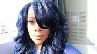 Do you love being different? Check out this Indigo Blue Wig ARI by ...