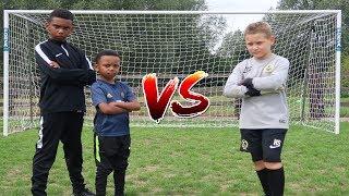 Football Challenge vs BRO & GOALKEEPER HENRY SAVE-ALL