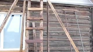 Обшивка сайдингом деревянного дома(мой сайт http://samodelpshelovod.ru Как обшить деревянный дом сайдингом бюджетный вариант , не в ущерб качеству. На..., 2015-05-16T20:07:06.000Z)