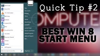 Best Windows 8.1 Start Menu! | QT #2