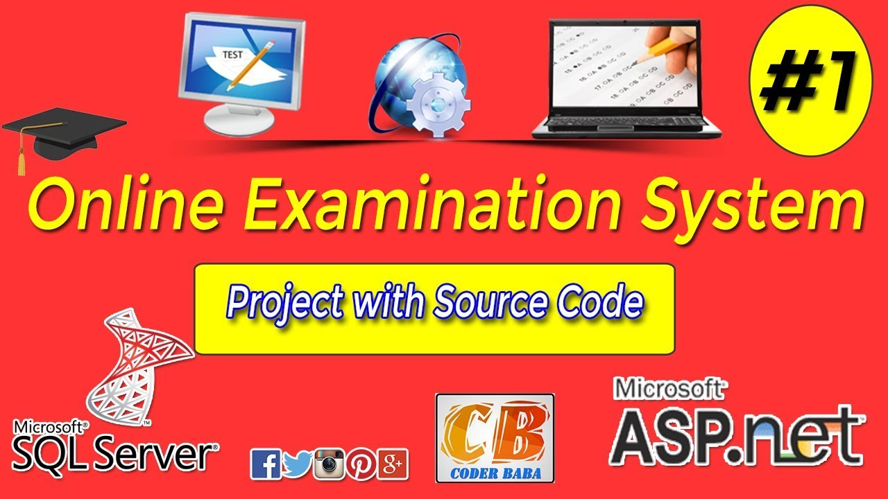Online Examination System project in ASP NET with C# Part 1
