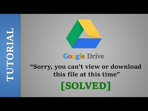 Bypass Google Drive Download Limit