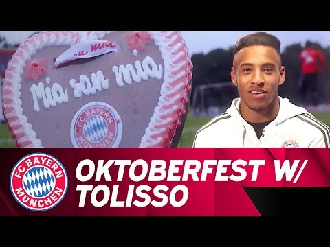 Oktoberfest lessons with Corentin Tolisso! 🗣