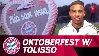 Oktoberfest lessons with Corentin Tolisso!