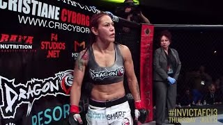 Invicta FC 13: All Angles - Cris Cyborg vs Charmaine Tweet