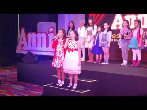 EXCLUSIVE PERFORMANCE! Annie the Musical: Maybe