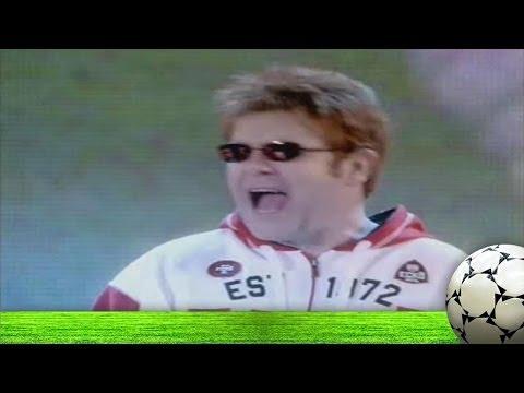 Valentine's Day Special: Elton John celebrates football