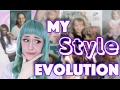My Style Evolution | Fashion Phases | Embarassing Photos !
