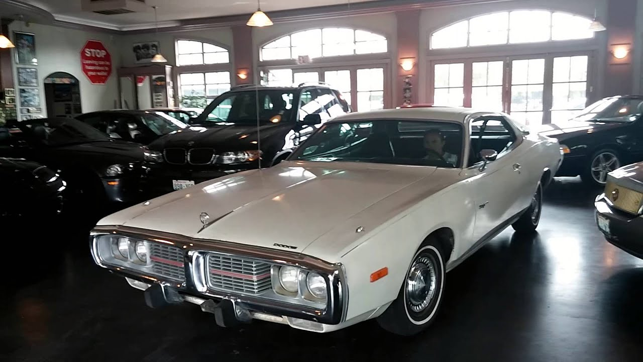 1973 Dodge Charger Se Brougham Youtube