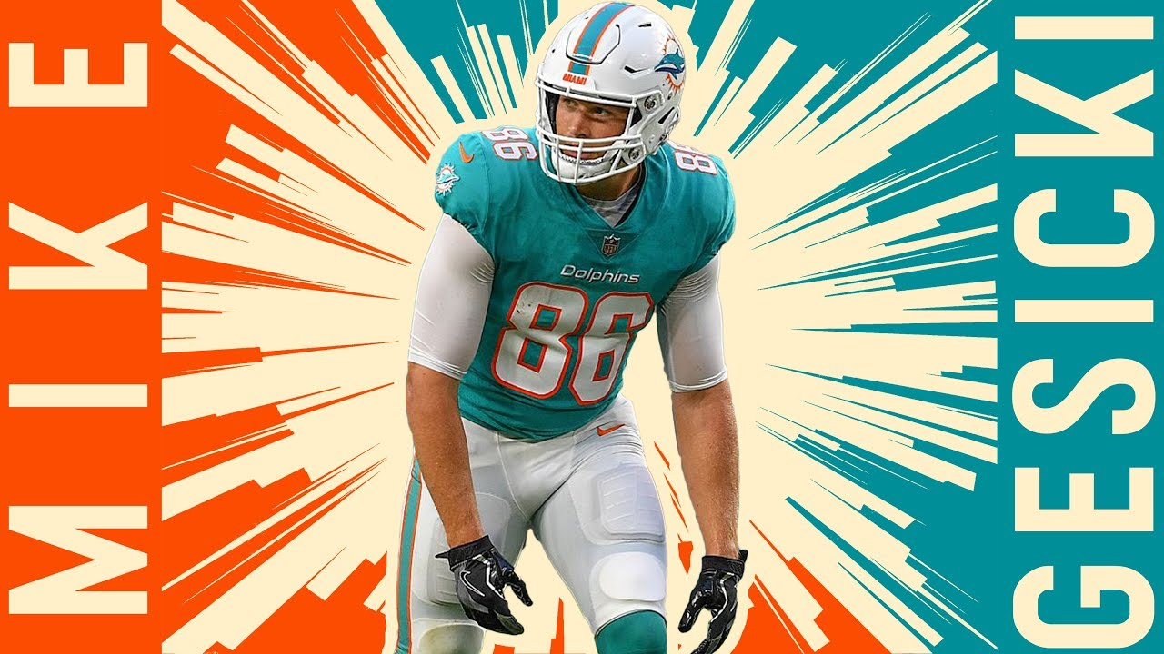 new product e167c 64506 Mike Gesicki Official Rookie Highlights