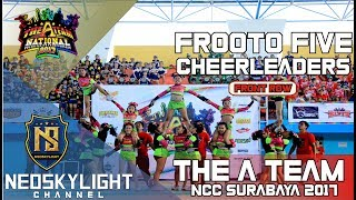1St Place Frooto Five Cheers I @The A Team National Cheerleading Championship 2017 I [@Neoskylight]