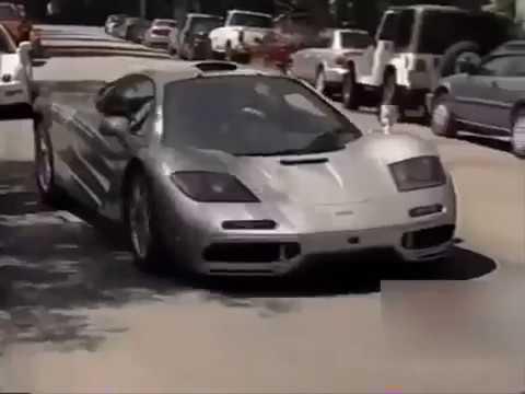 1999 Young Elon Musk picking up his Mclaren F1