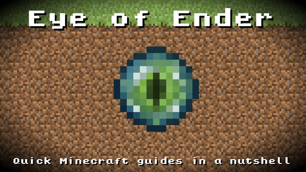 Minecraft - Eye of Ender! Recipe, Item ID, Information ...