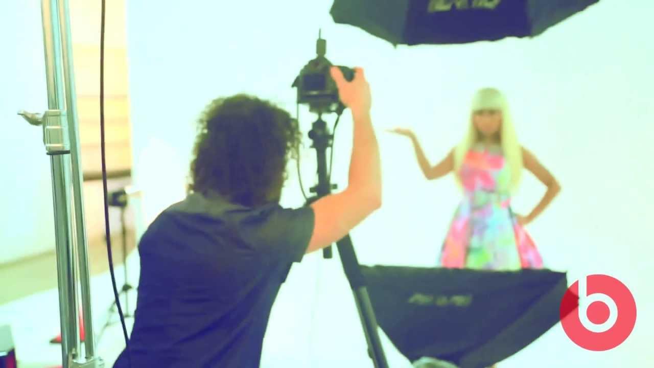 Behind The Scenes Nicki Minaj Pink Pill Commercial