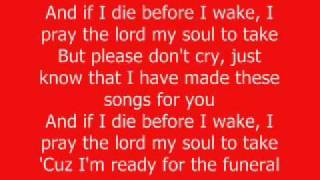 The Prayer- KiD CuDi (w/ Lyrics)