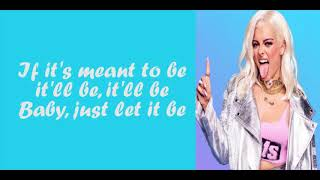 Bebe Rexha - Meant to Be (feat. Florida Georgia Line) [Lyrics]