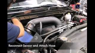afe 1999 2011 dodge ram air intake installation video
