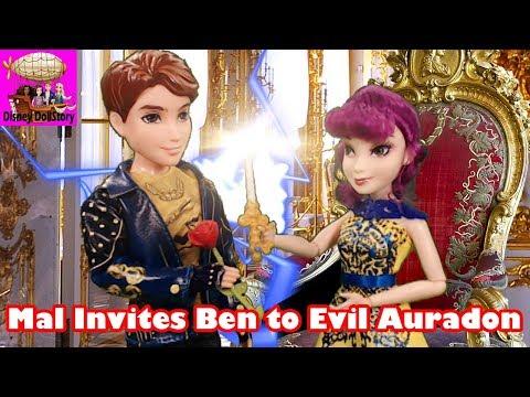 Mal Invites Ben to Evil Auradon - Part 1 - Descendants