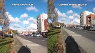 Veho Muvi K2 Vs GoPro Hero 2014 Video Sample Test