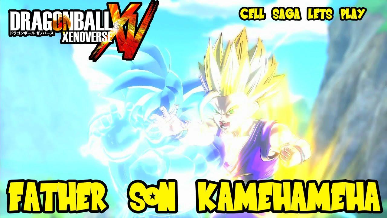 Dragon Ball Xenoverse Father Son Kamehameha Gohan Vs Cell Finale