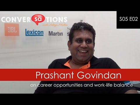 Career opportunities in pro audio industry and more | Prashant Govindan || Harman India || S05 E02