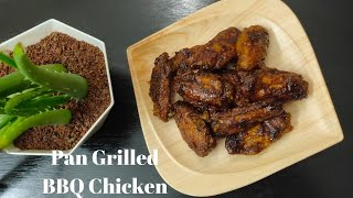 Basic BBQ Chicken WingsPan Grilled BBQ Chicken Wings
