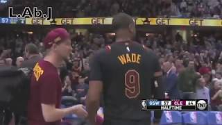 D. Wade best play from 2018 finals against the Golden state Warriors - (